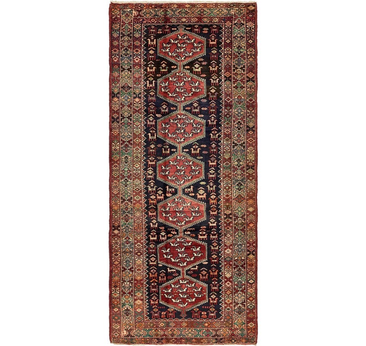 Image of 4' x 9' 9 Tafresh Persian Runner ...