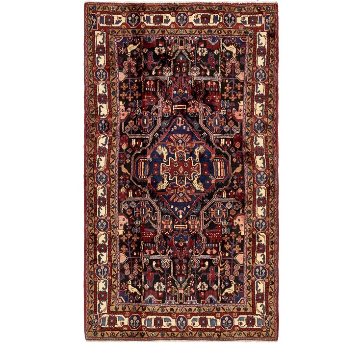 165cm x 290cm Nahavand Persian Rug