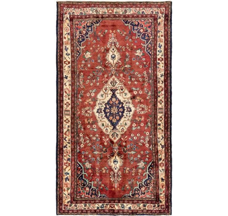 170cm x 318cm Hamedan Persian Runner ...