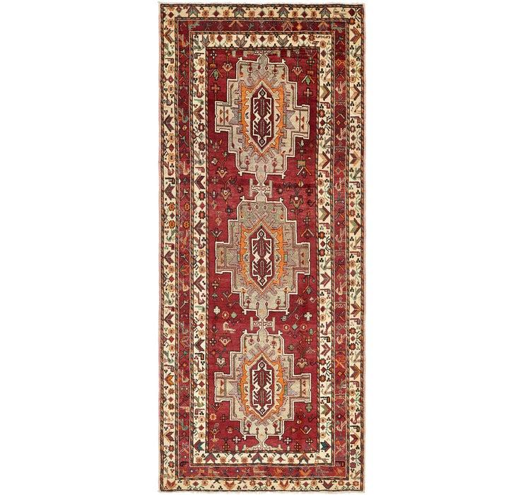 4' 9 x 11' 4 Shiraz Persian Runner Rug