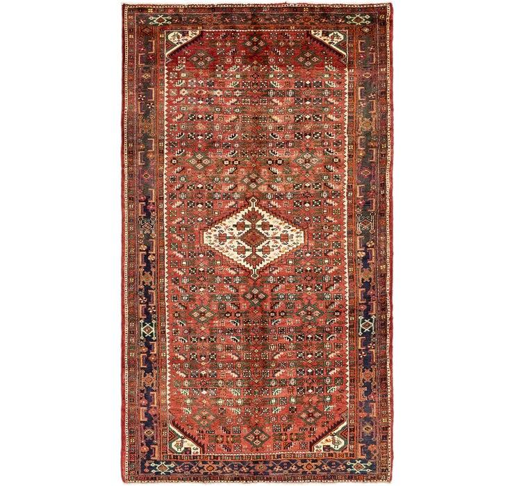 5' 5 x 9' 8 Hossainabad Persian Rug