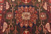 4' 11 x 9' 7 Nahavand Persian Rug thumbnail