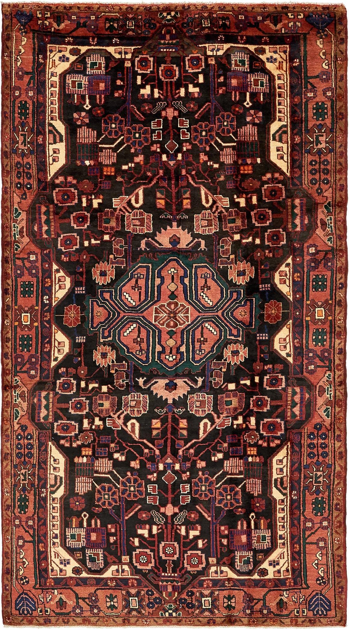 5' 6 x 10' 5 Nahavand Persian Rug main image