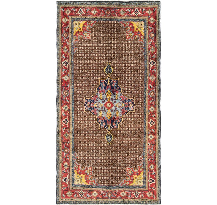 147cm x 295cm Songhor Persian Runner ...