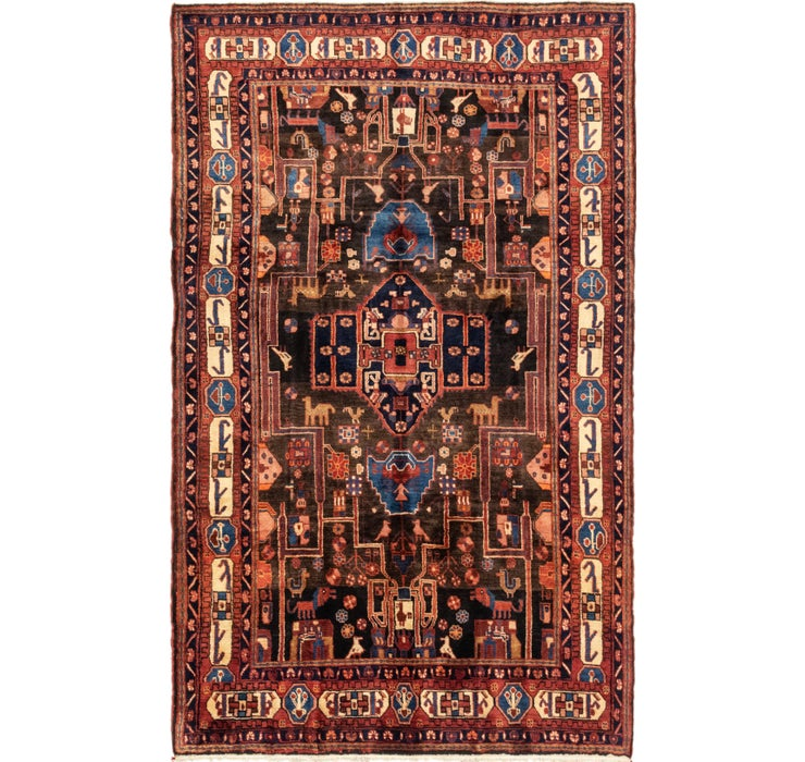 5' 9 x 9' 5 Nahavand Persian Rug