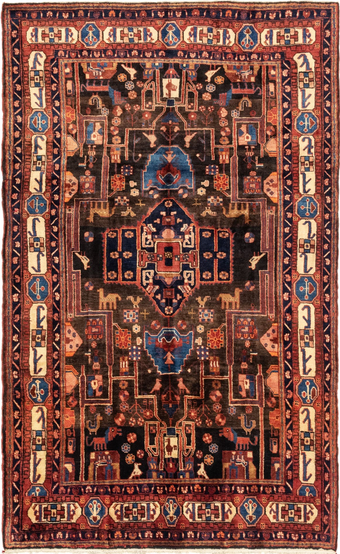 5' 9 x 9' 5 Nahavand Persian Rug main image