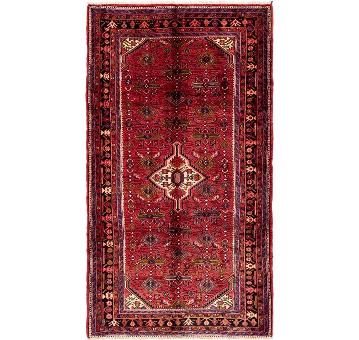 168cm x 297cm Hossainabad Persian Rug