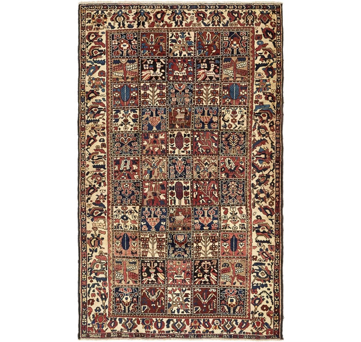 5' 7 x 9' 2 Bakhtiar Persian Rug