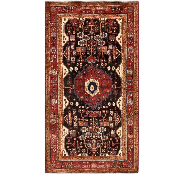 5' 3 x 9' 10 Nahavand Persian Rug