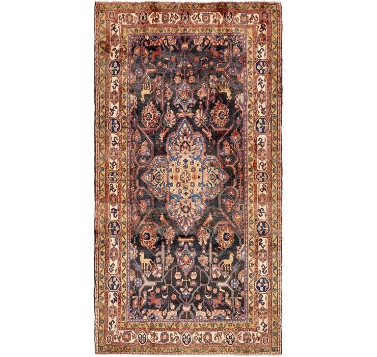 5' x 9' 8 Nahavand Persian Rug