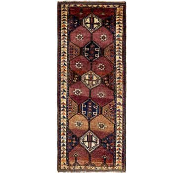 4' 11 x 11' 6 Shiraz Persian Runner Rug