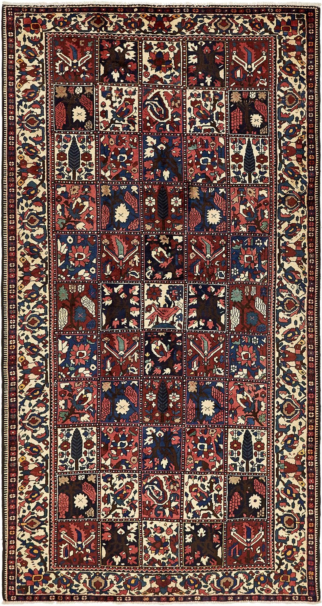 5' 7 x 10' 4 Bakhtiar Persian Runner Rug main image