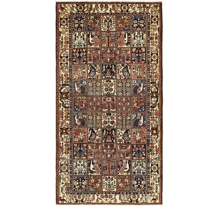 163cm x 312cm Bakhtiar Persian Rug