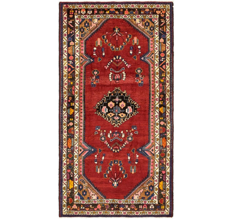 4' 10 x 9' 2 Borchelu Persian Runner...