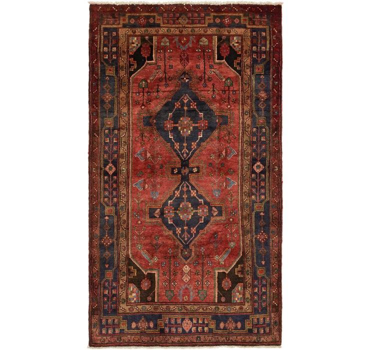 5' x 9' Khamseh Persian Rug