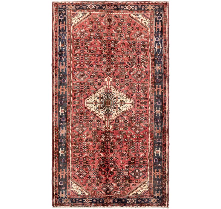 5' 6 x 9' 10 Hossainabad Persian Rug