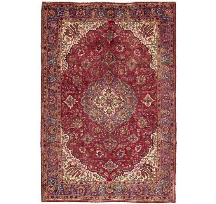 203cm x 310cm Tabriz Persian Rug