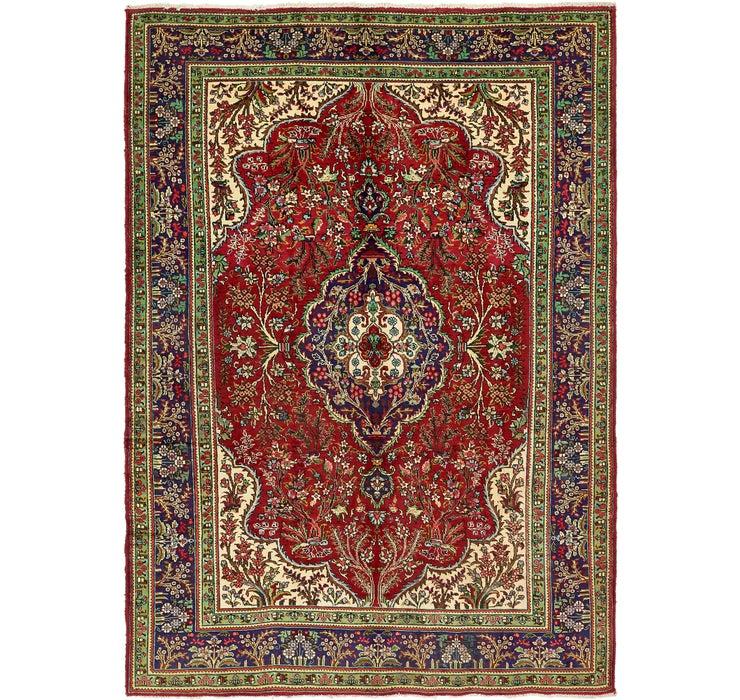 7' 7 x 10' 9 Tabriz Persian Rug