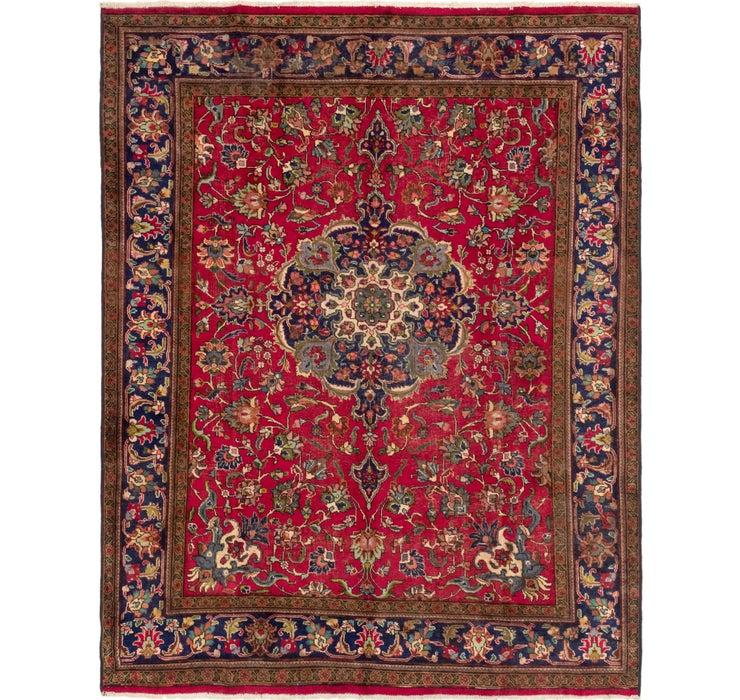 7' 9 x 9' 10 Tabriz Persian Rug