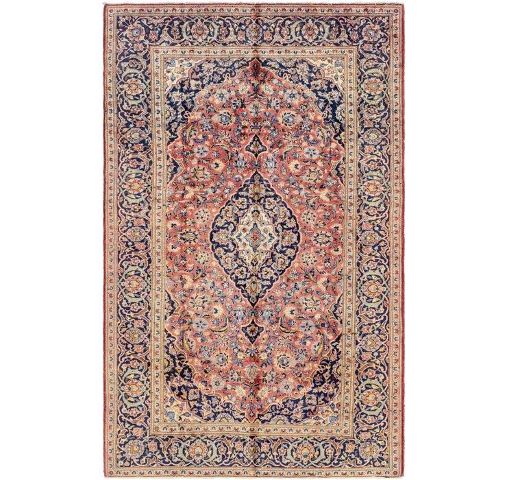 6' 10 x 10' 9 Kashan Persian Rug