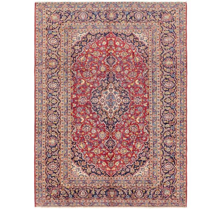 8' 2 x 11' 4 Kashan Persian Rug