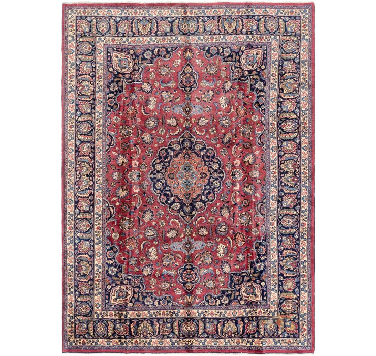 250cm x 350cm Mashad Persian Rug