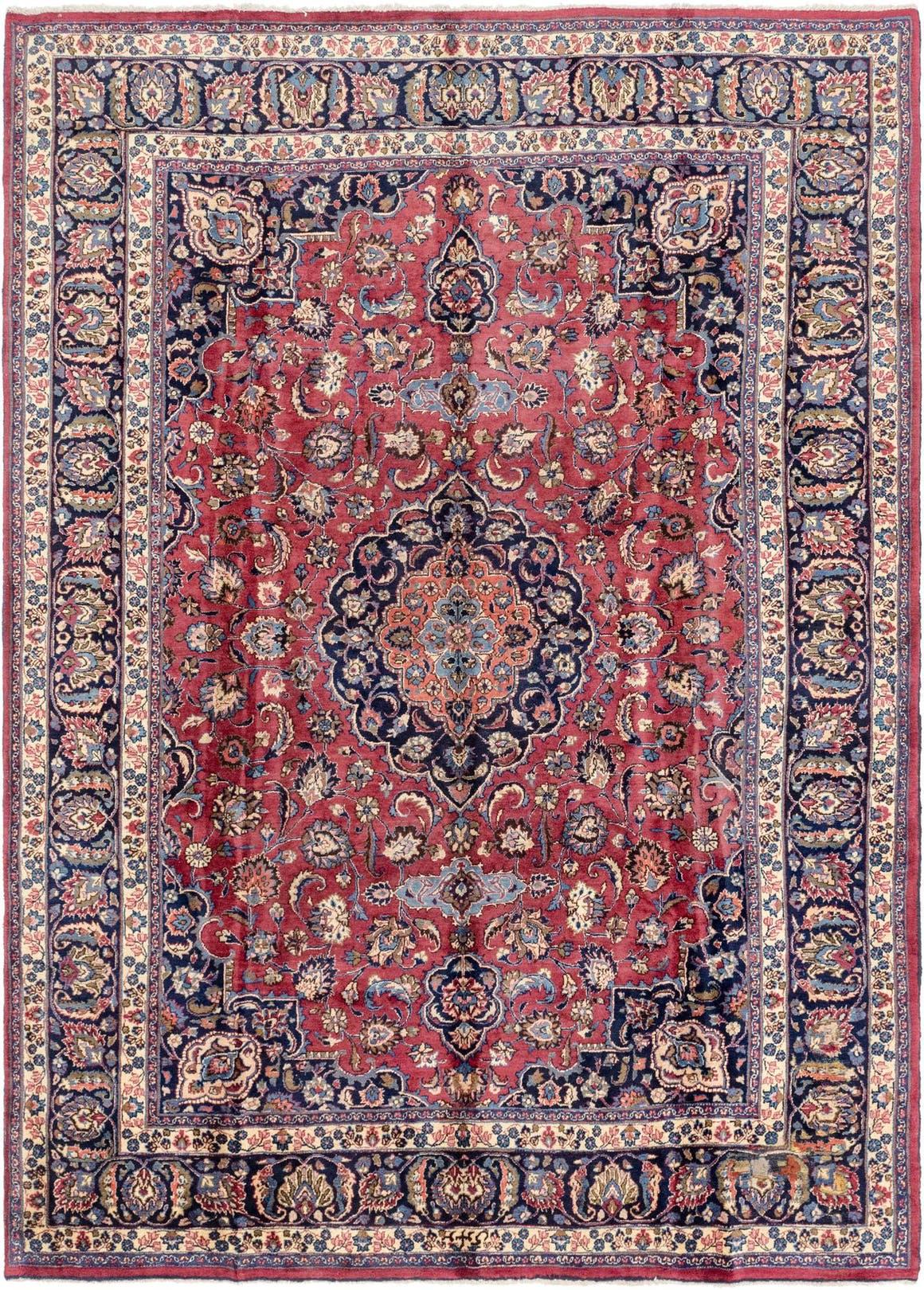 8' 3 x 11' 6 Mashad Persian Rug main image
