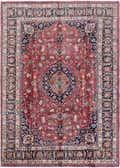 8' 3 x 11' 6 Mashad Persian Rug thumbnail
