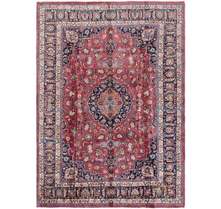 Image of 8' 3 x 11' 6 Mashad Persian Rug