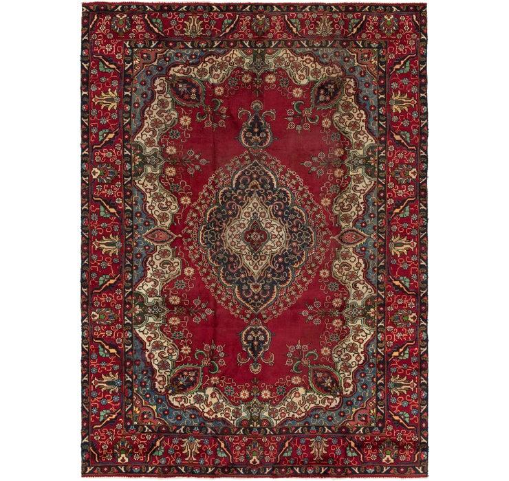 230cm x 335cm Tabriz Persian Rug