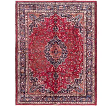 Image of 10' x 12' 7 Mashad Persian Rug