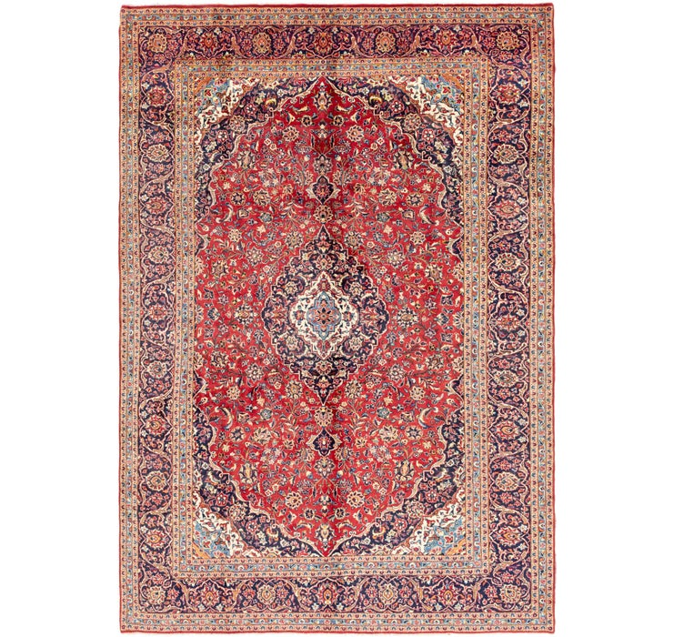 297cm x 432cm Kashan Persian Rug