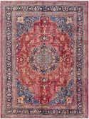 8' 3 x 11' Mashad Persian Rug thumbnail