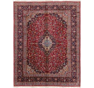 10' x 13' Kashan Persian Rug main image
