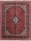 10' x 13' Kashan Persian Rug thumbnail
