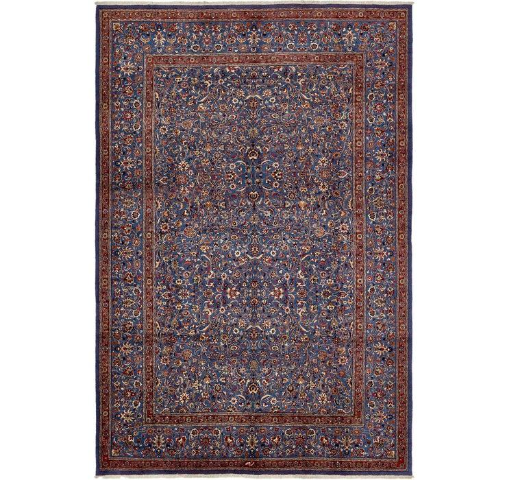 390cm x 587cm Mashad Persian Rug