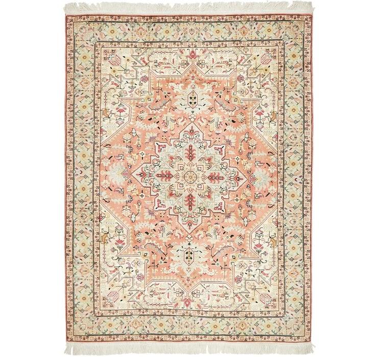 152cm x 198cm Tabriz Persian Rug