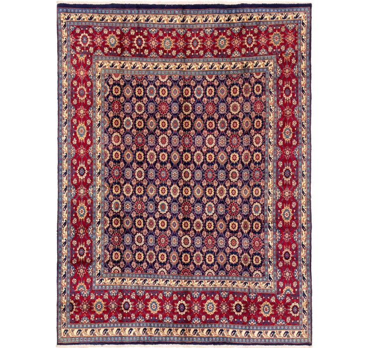 287cm x 385cm Varamin Persian Rug