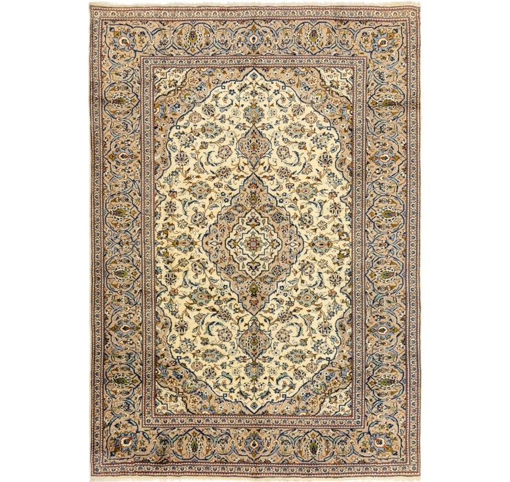 245cm x 355cm Kashan Persian Rug