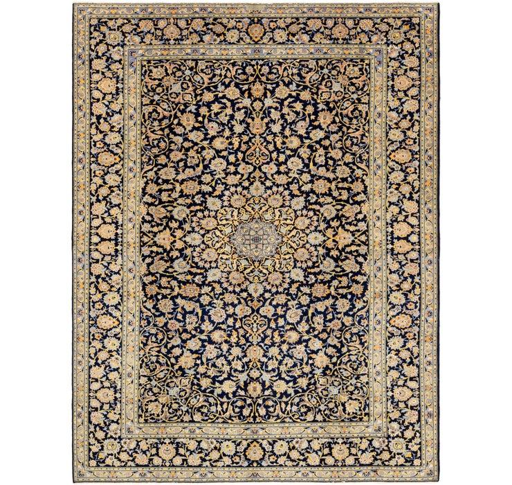 8' 5 x 11' 2 Kashan Persian Rug