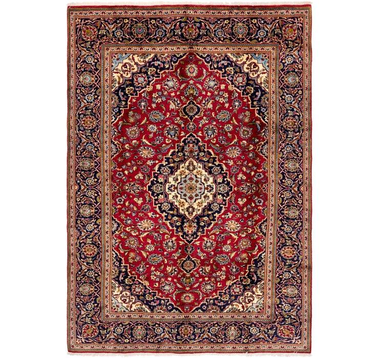 245cm x 353cm Kashan Persian Rug