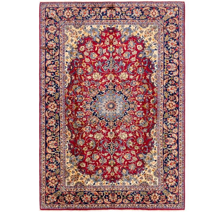 255cm x 358cm Isfahan Persian Rug