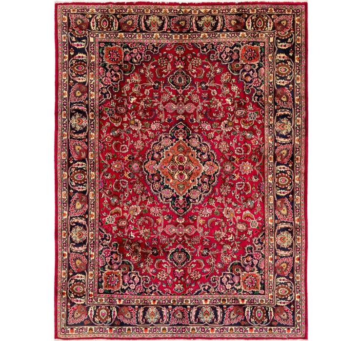 8' x 10' 8 Mashad Persian Rug