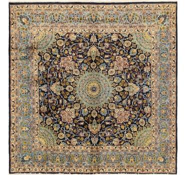 9' 9 x 9' 10 Kashmar Persian Square Rug main image