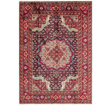 Image of 6' 9 x 9' 7 Tabriz Persian Rug