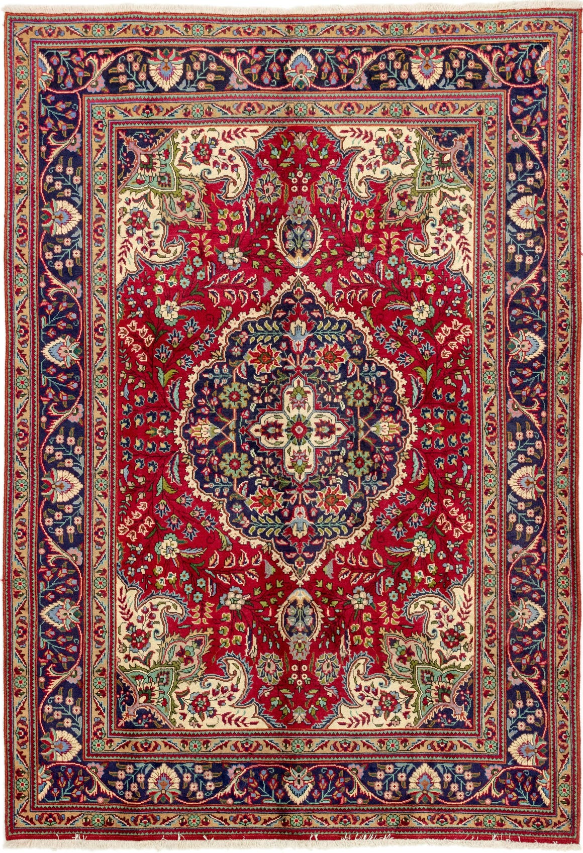 6' 9 x 9' 8 Tabriz Persian Rug main image