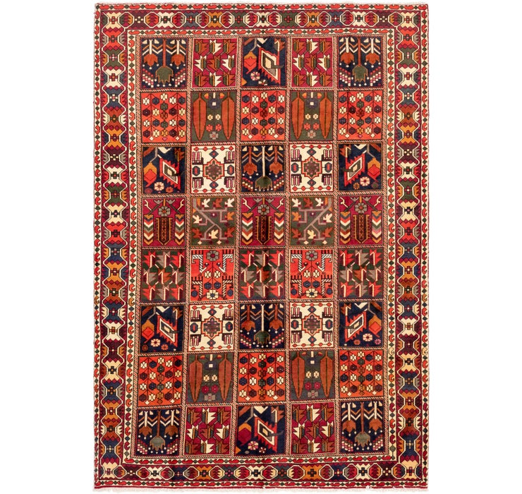 205cm x 297cm Bakhtiar Persian Rug
