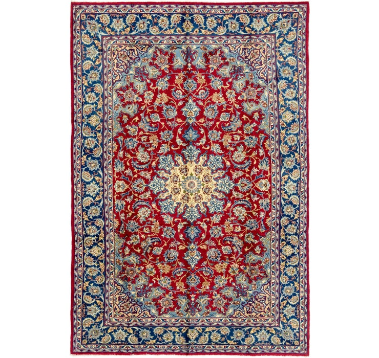 225cm x 335cm Isfahan Persian Rug