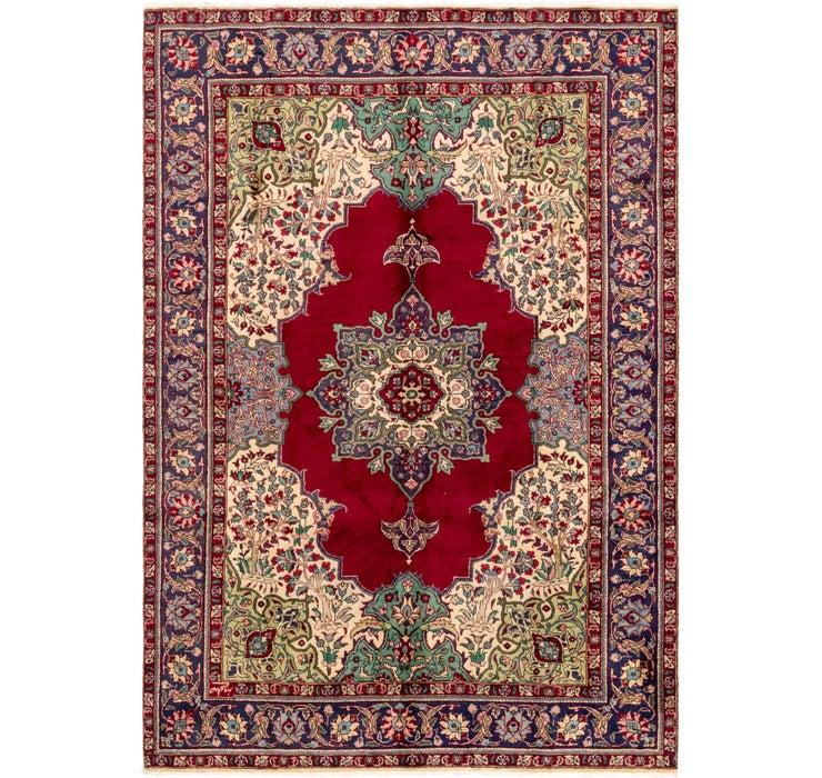 6' 8 x 9' 9 Tabriz Persian Rug