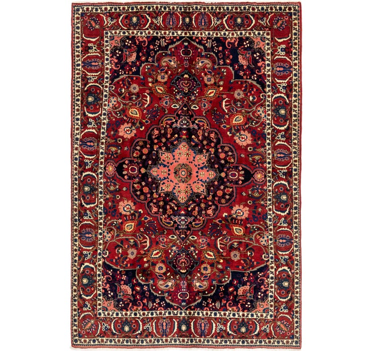 203cm x 312cm Bakhtiar Persian Rug